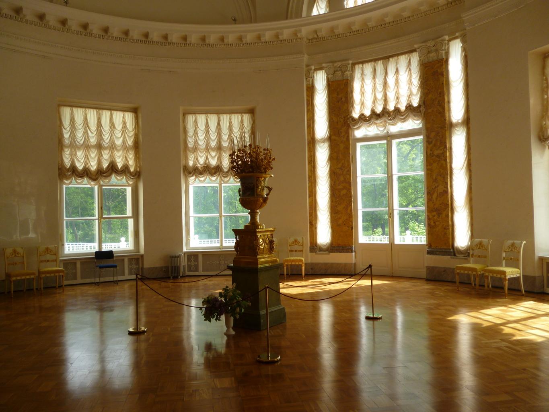 александровский дворец залы фото окончания войны